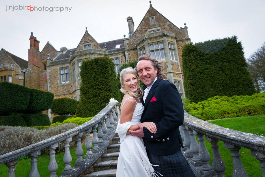bride_and_groom_outside_fawsley_hall