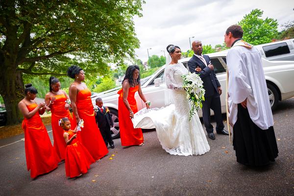 Hilton Hotel Wembley Wedding Photography – Linda & Denis