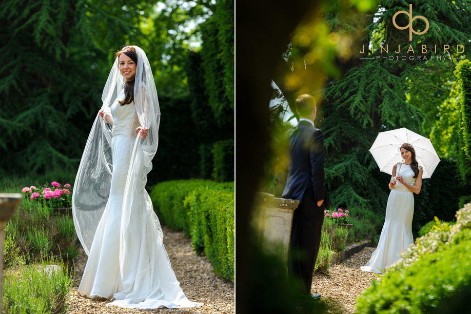 bride_in_garden_fawsley_hall