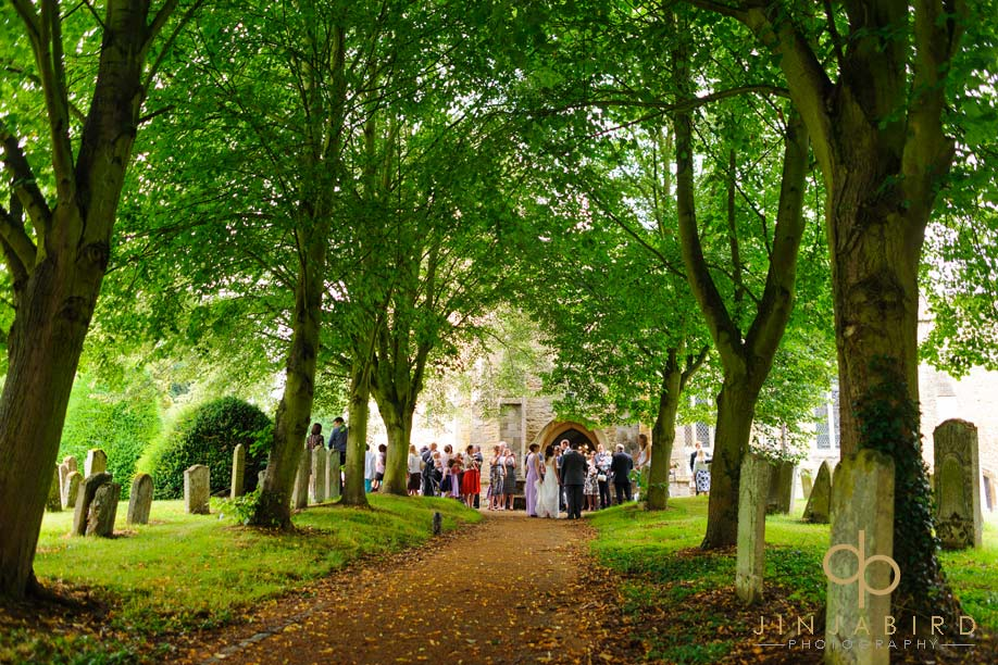 all_saints_church_kempston_wedding_party