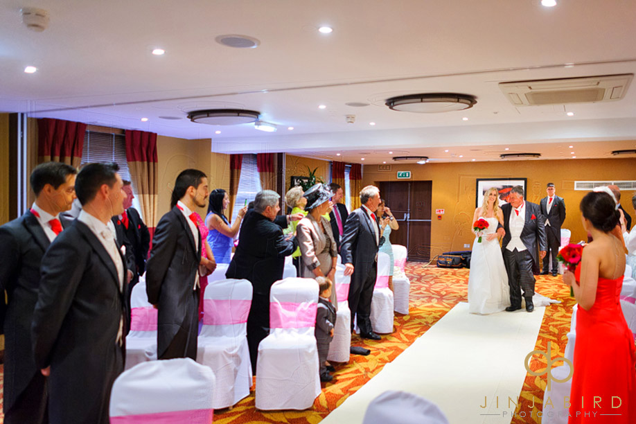 bridal_procesion_bull_hotel_gerrards_cross