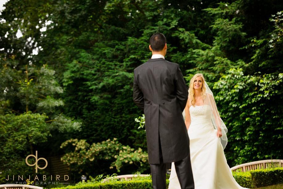 bull_hotel_gerrards_cross_bride_in_garden