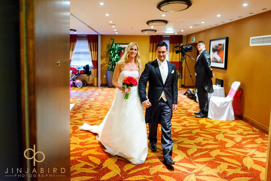 just_married_bull_hotel_gerrards_cross