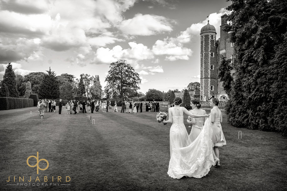 bridal_with_bridesmaids_madingley_hall
