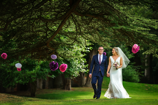 Flitwick Manor wedding photography – Beth & Simon