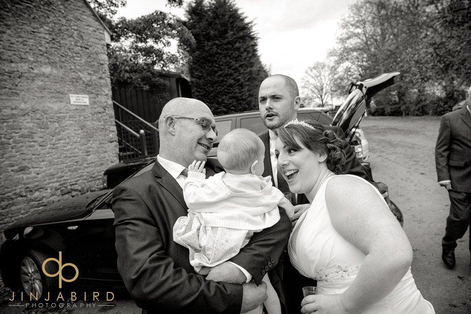 bride_and_guests_sharnbrook_mill