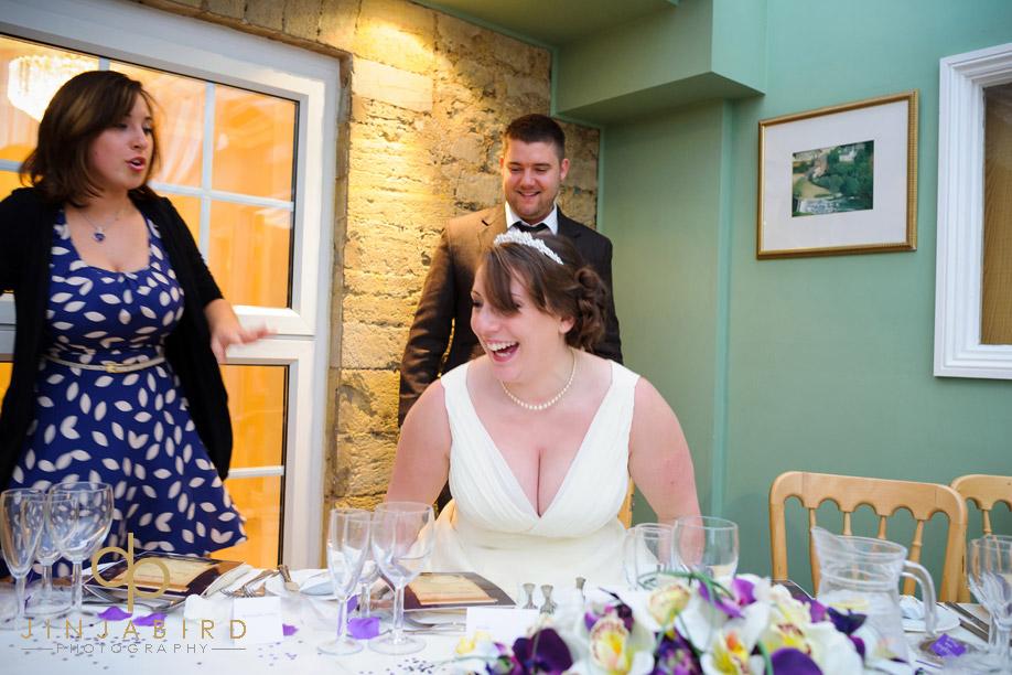 bride_at_reception_sharnbrook_mill