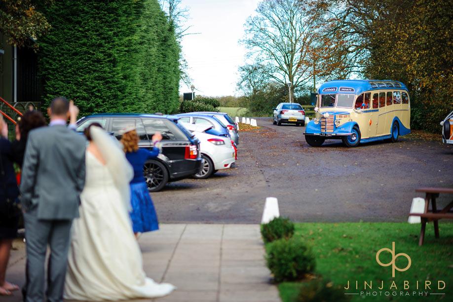 bride_leaving_sharnbrook_mill