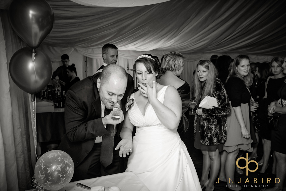 eating_wedding_cake_sharnbrook_mill