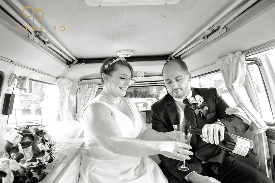st_lawrences_church_willington_wedding_champagne
