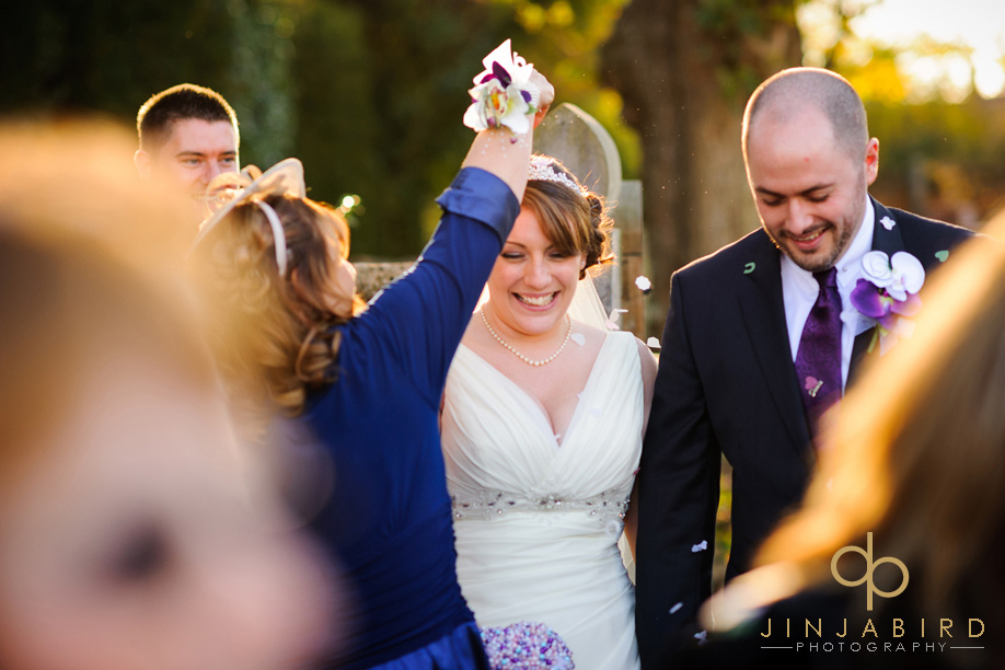 st_lawrences_church_willington_wedding_confetti