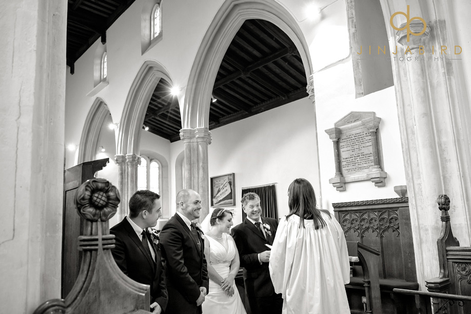st_lawrences_church_willington_wedding_service