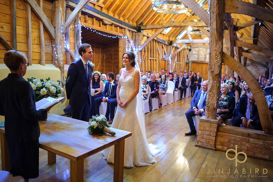 bassmead_manor_barns_wedding_ceremony