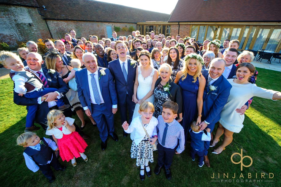 wedding_group_bassmead_manor_barns