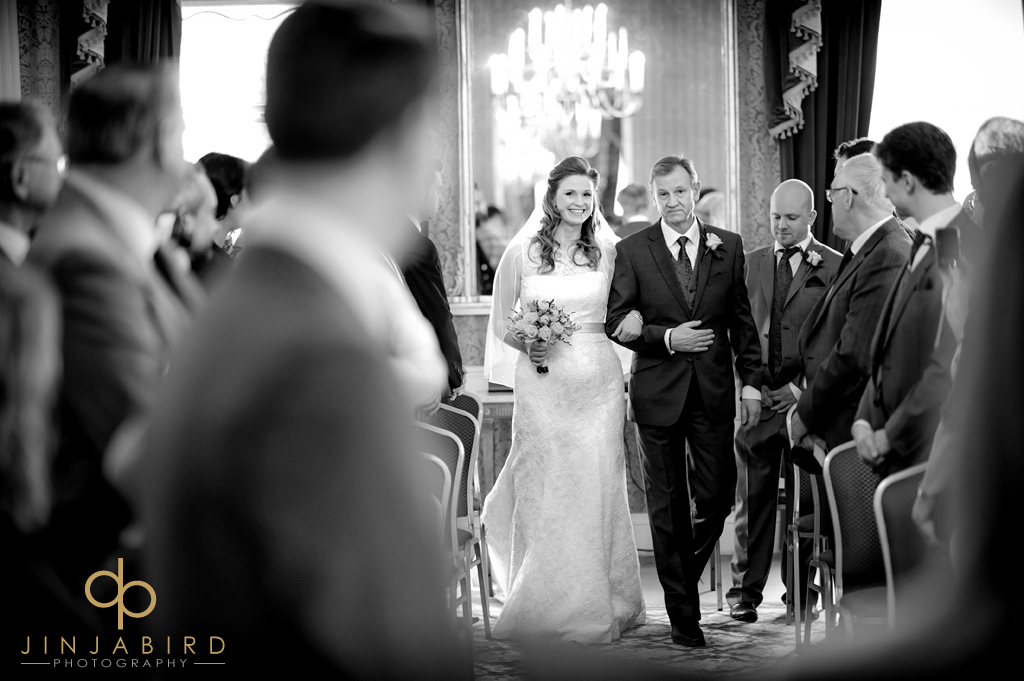 bridal-procesion-hitchin-priory