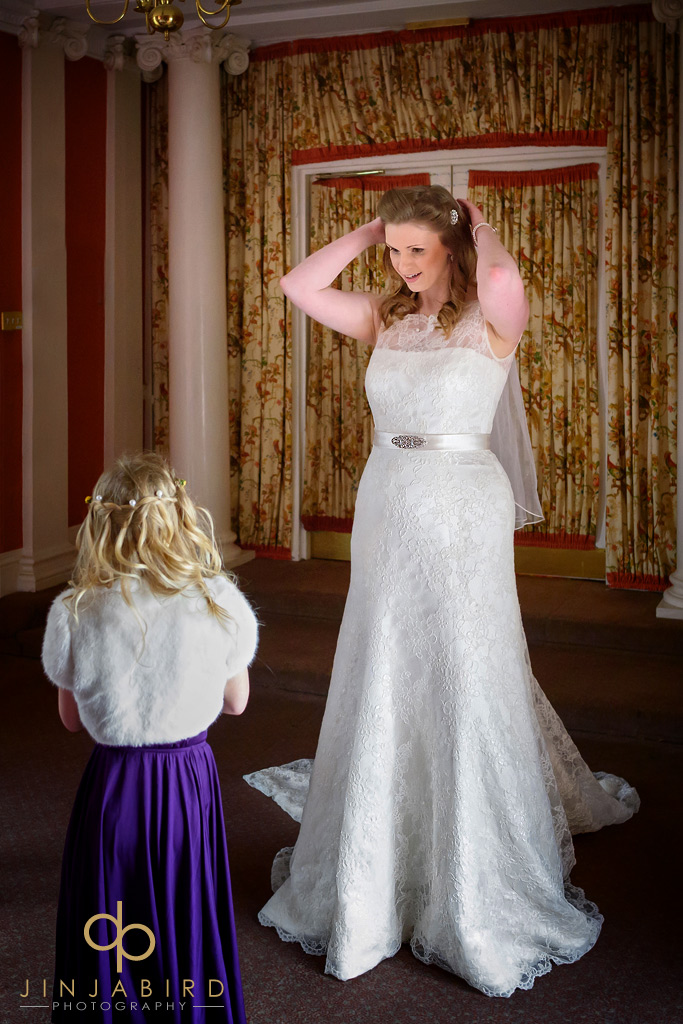 bride-and-bridesmaid-hitchin-priory