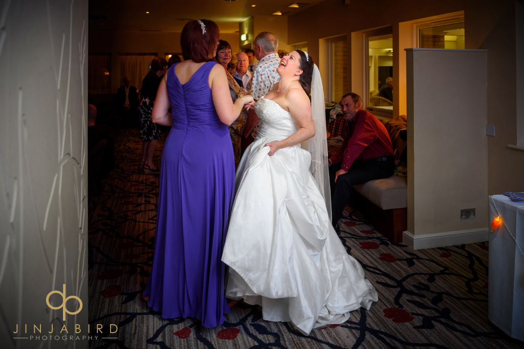 bride-laughing-wyboston-lakes