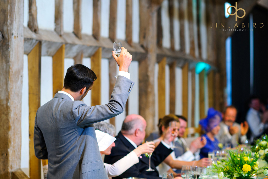 wedding-toast-southend-barns