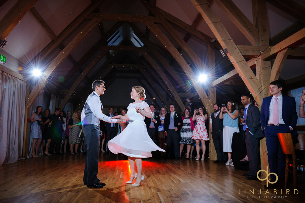 bride-and-grooms-first-dance-bassemad-manor-barns
