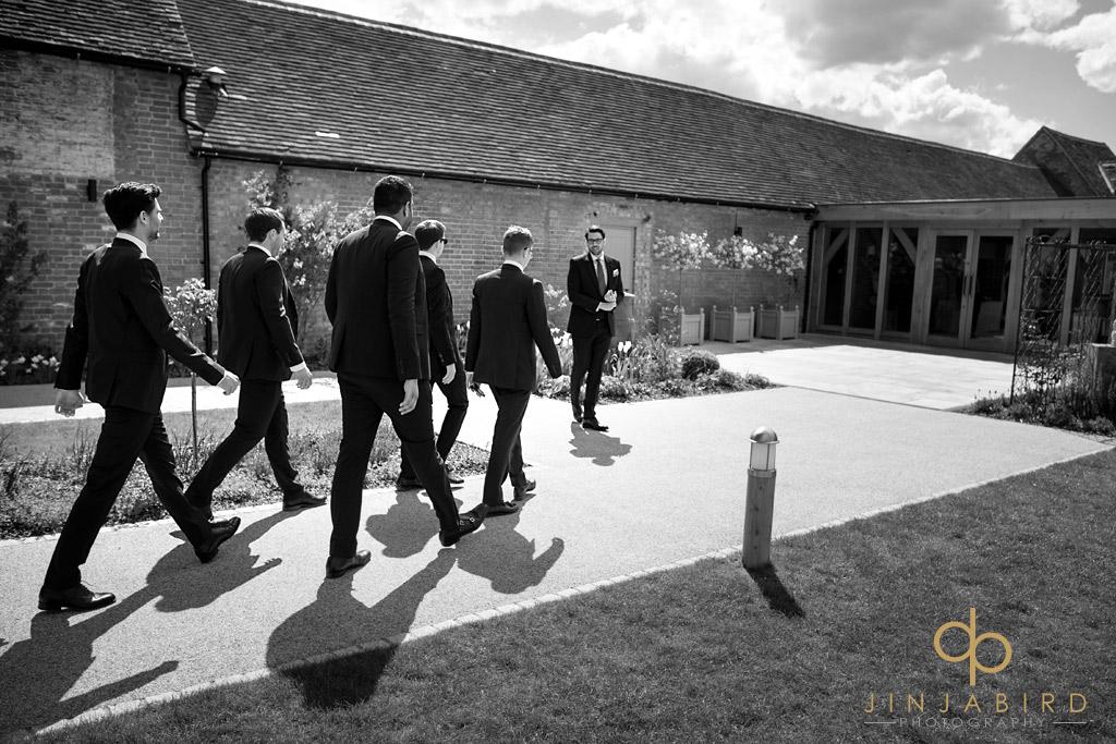 groomsmen-arriving-bassmead-manor