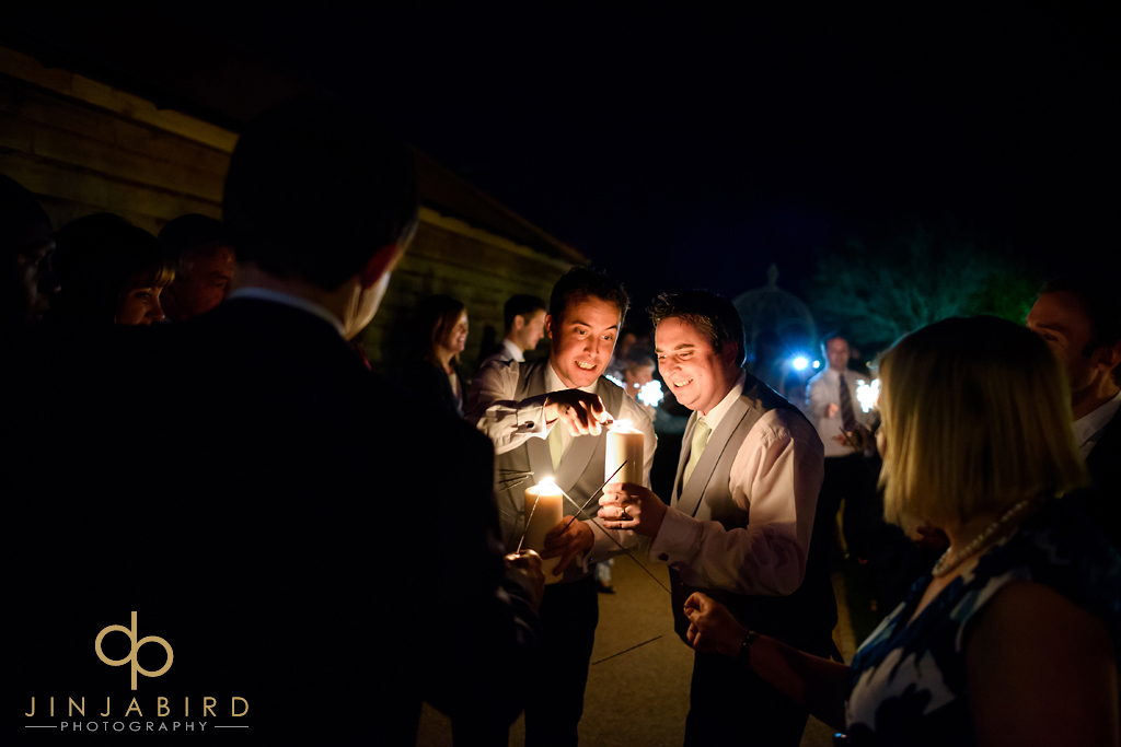 sparklers-at-wedding-bassemad-manor-barns