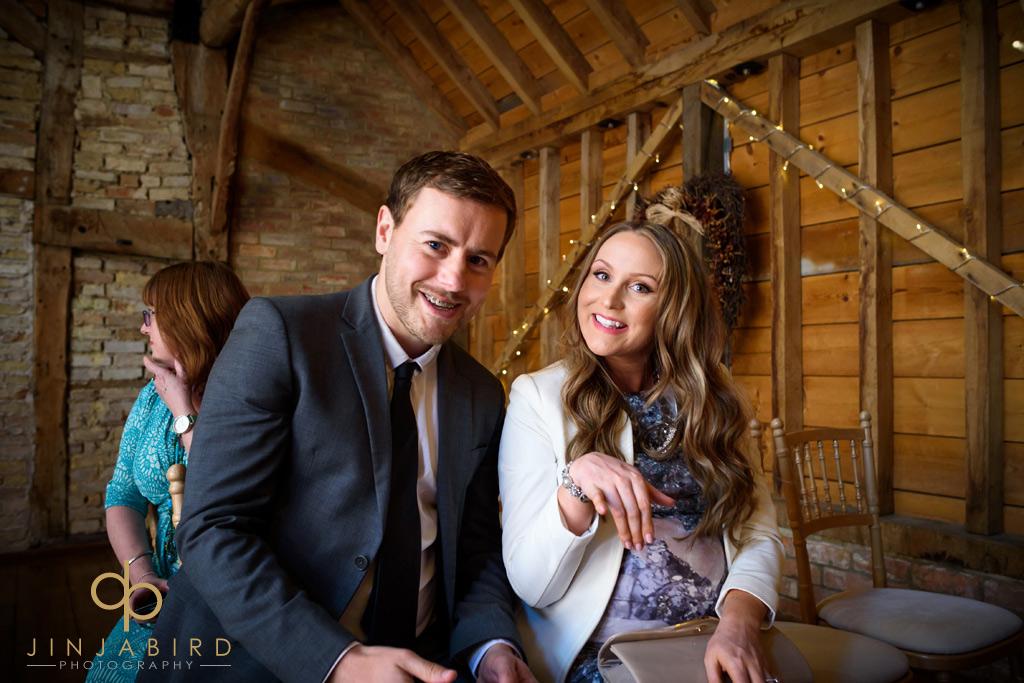 wedding-guests-at-bassmead-manor-barns