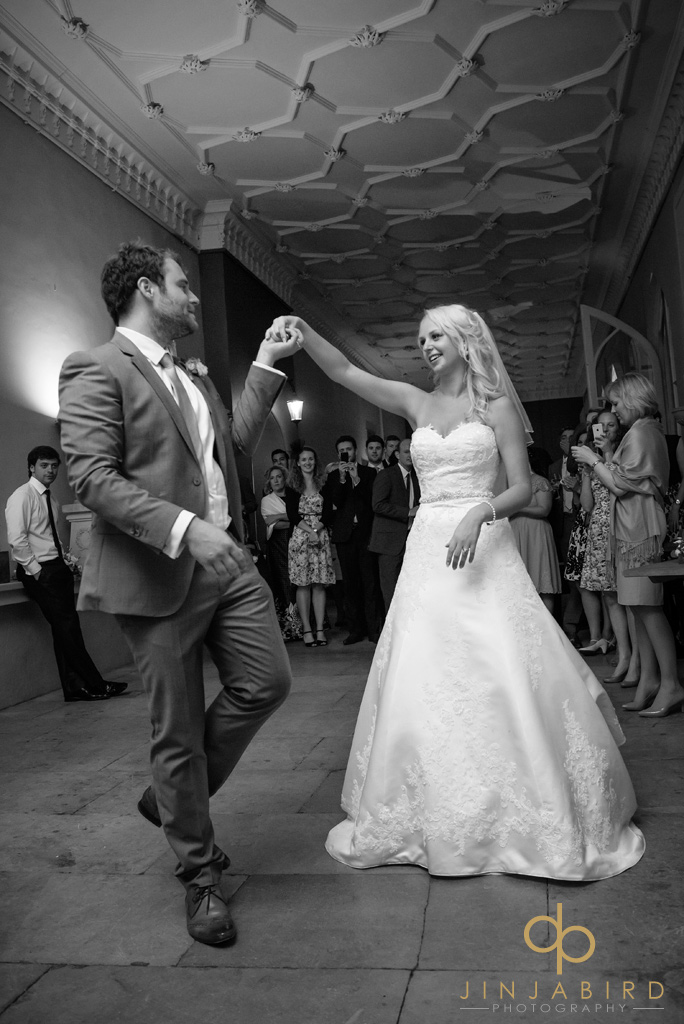 bride-and-groom-first-dance-burghley-house