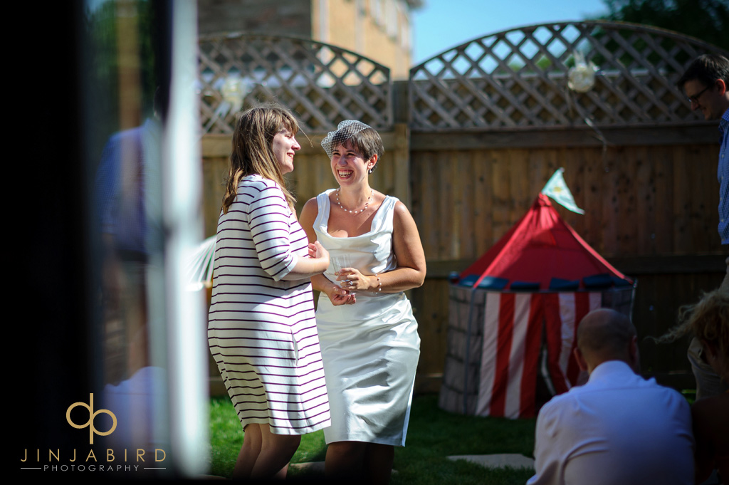 bride-with-friend-in-garden