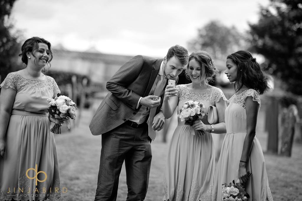 bridesmaids-at-stoke-rochford-church