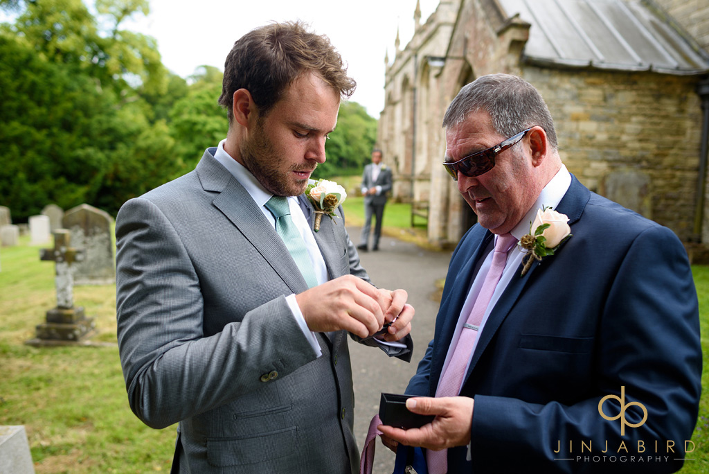 groom-and-father-at-stoke-rochford-church
