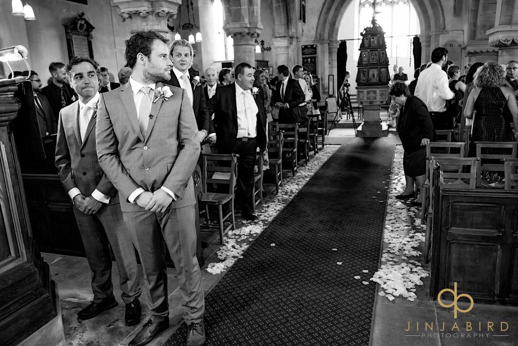 groom-waiting-at-stoke-rochford-church