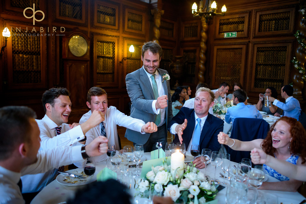 groom-with-guests-burghley-house