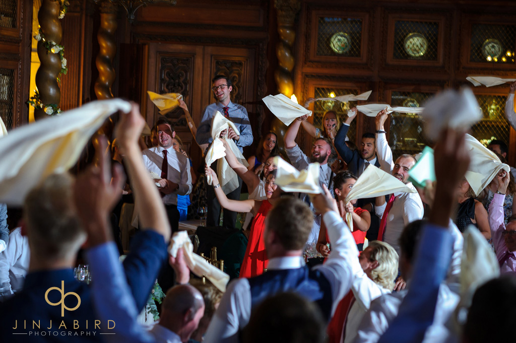 wedding-guests-having-fun-burghley-house