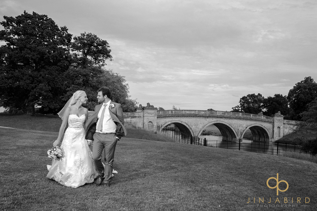 wedding photographer burghley house
