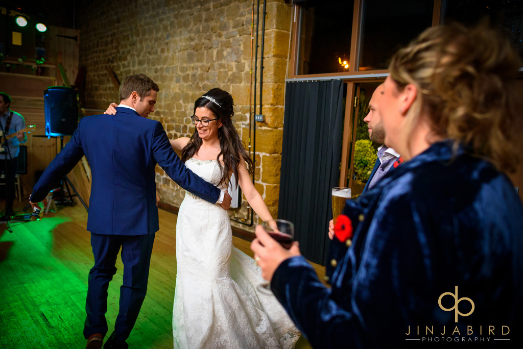 bride-dancing-with-groom-hunsburry-hill-centre