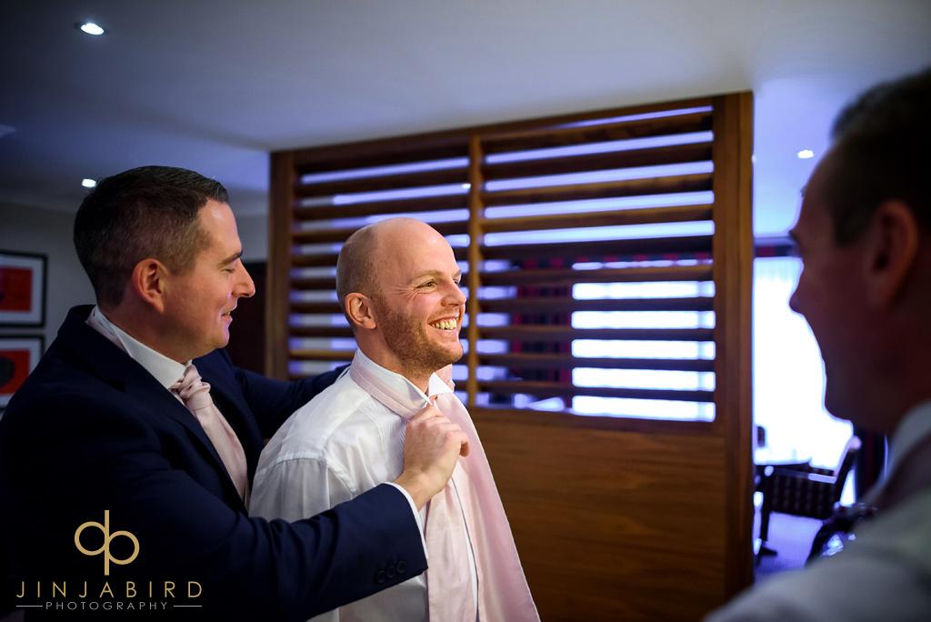 bull-hotel-gerrards-cross-groom-getting-ready