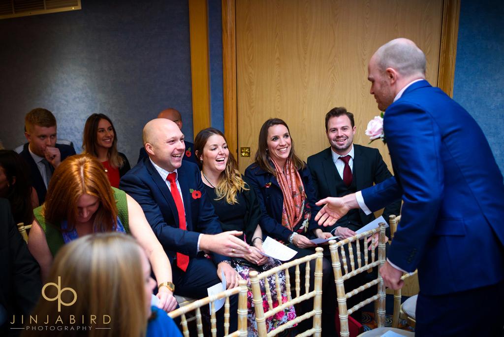 bull-hotel-gerrards-cross-groom-with-wedding-guests