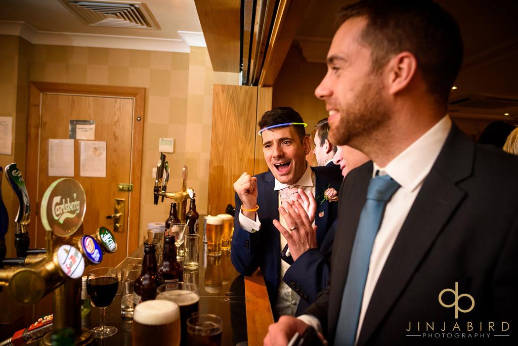 bull-hotel-gerrards-cross-wedding-party