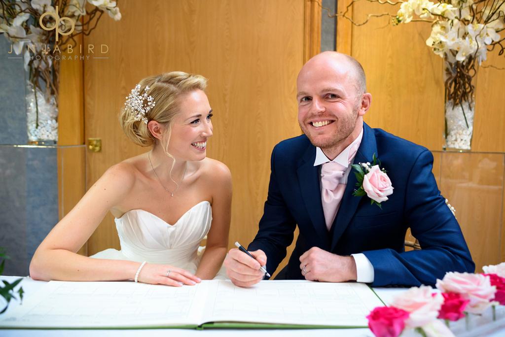 signing-wedding-register-bull-hotel-gerrards-cross