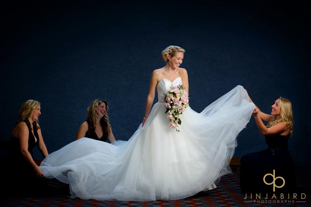 wedding photographer bull hotel gerrards cross