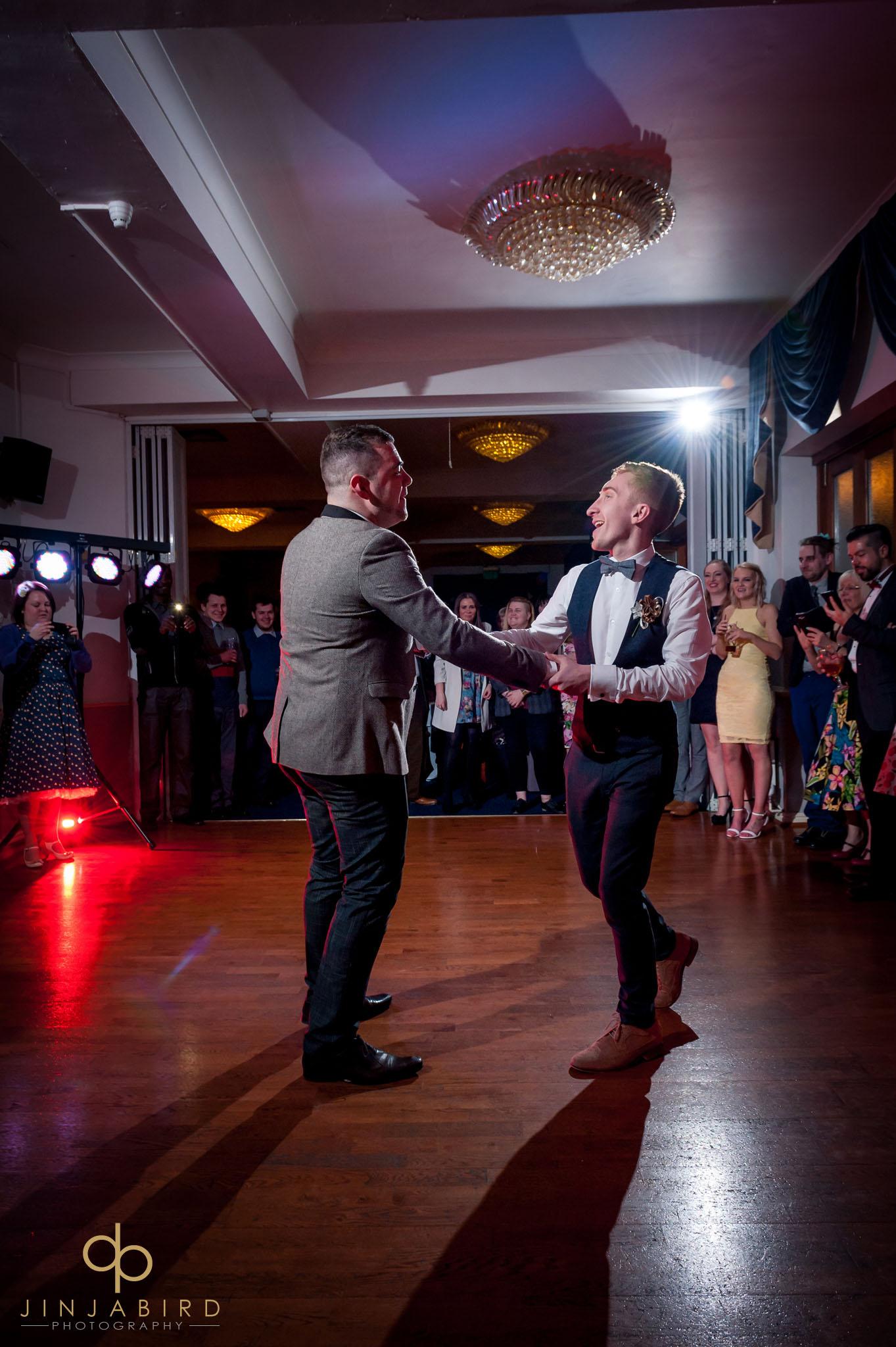 gay marriage normanton park hotel