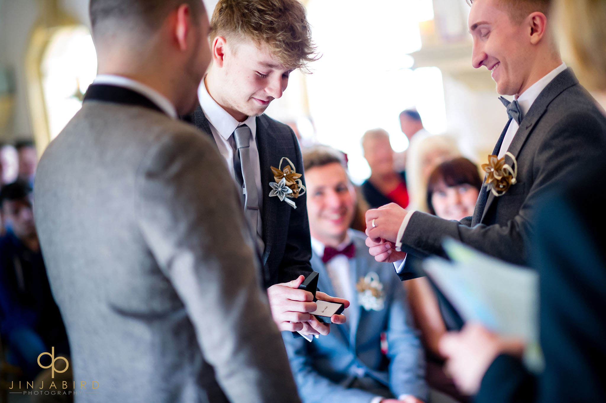 gay wedding normanton church