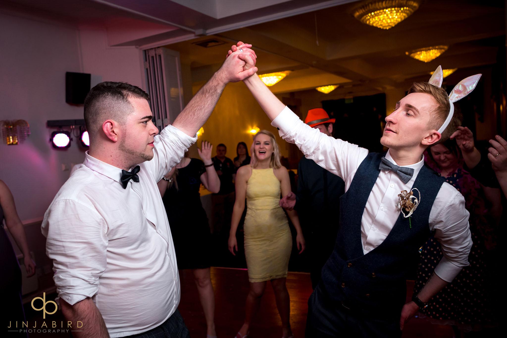 gay wedding normanton park hotel