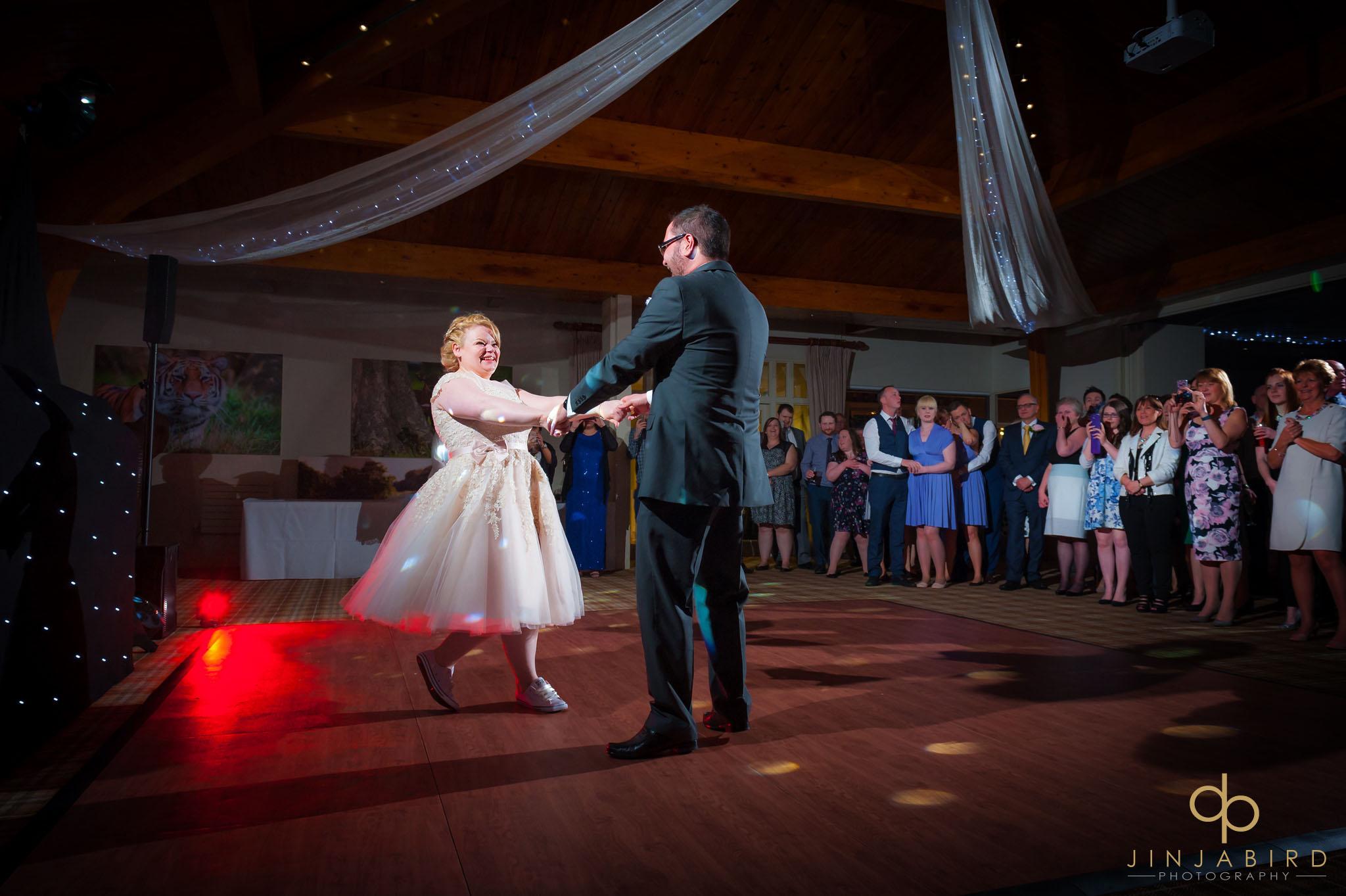 bride groom first dance woburn safari lodge