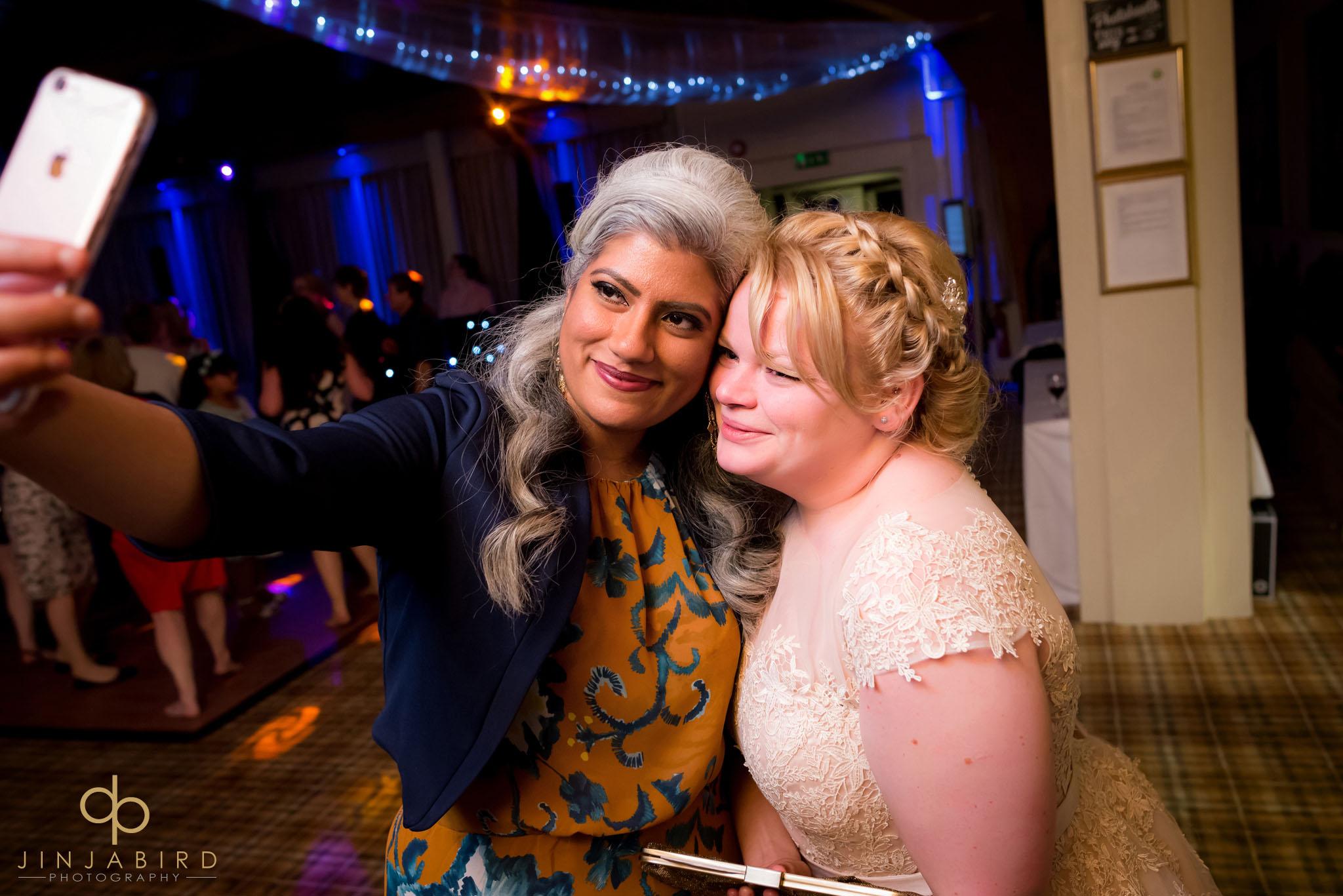 bride selfie woburn safari lodge