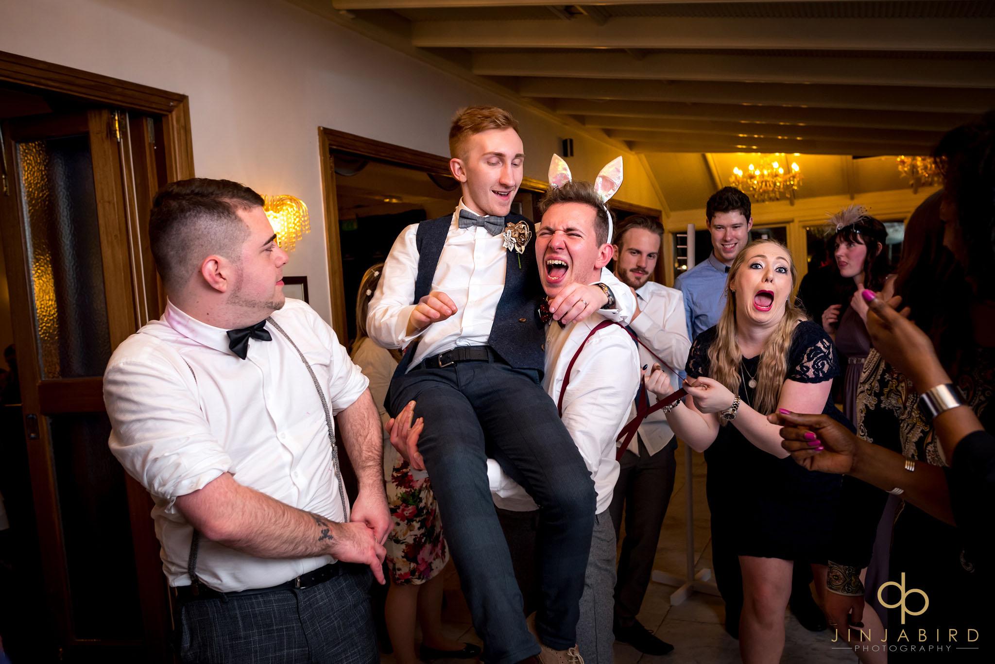 gay wedding photography normanton park hotel