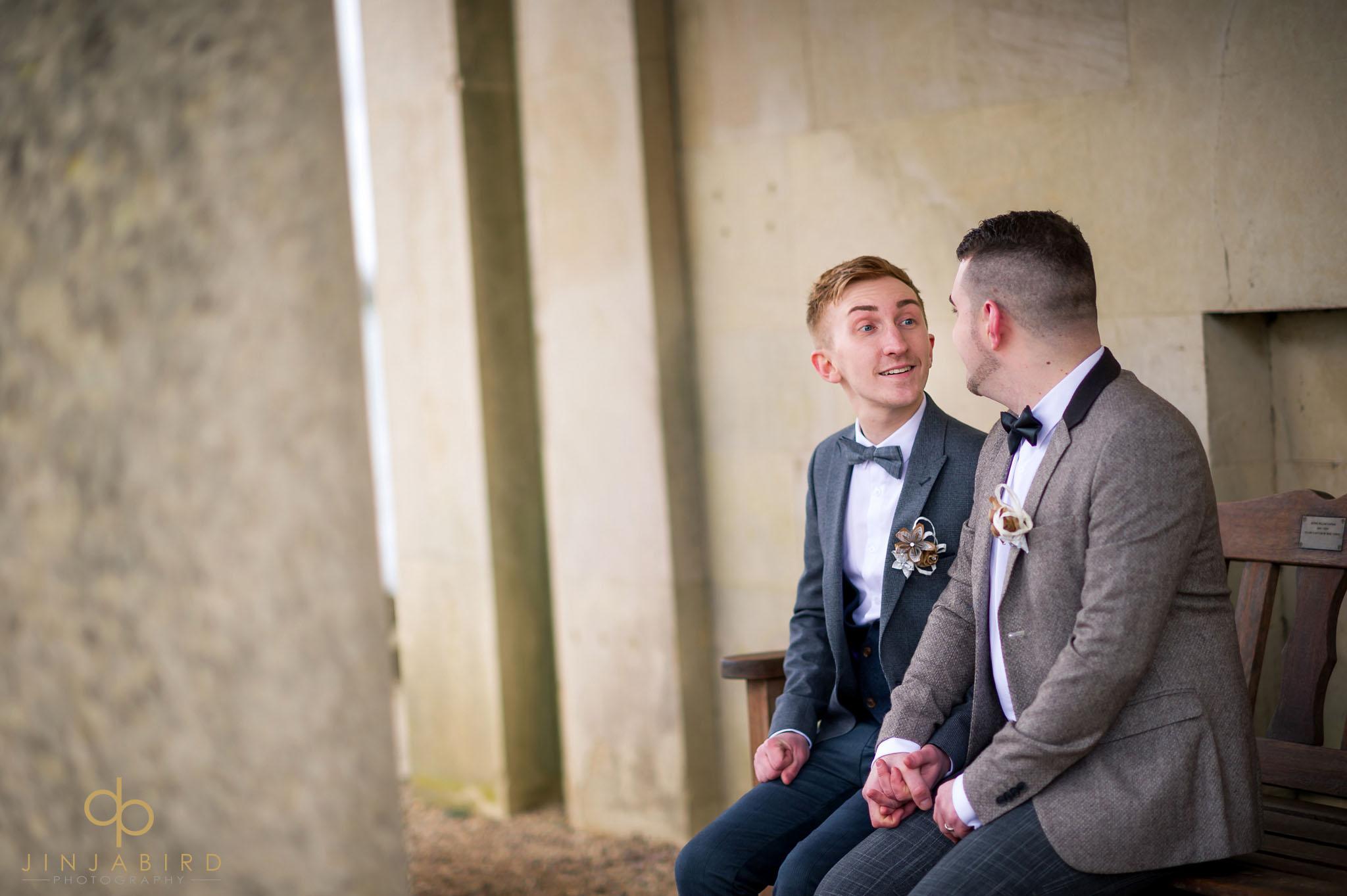 normanton church gay wedding photographer