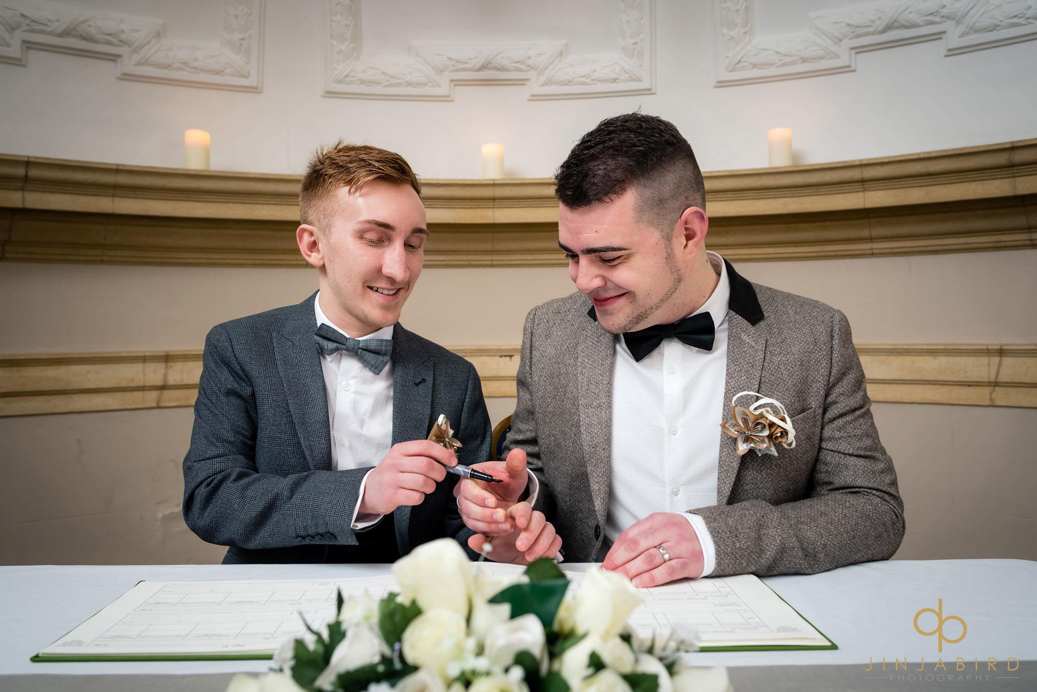 normanton church gay wedding