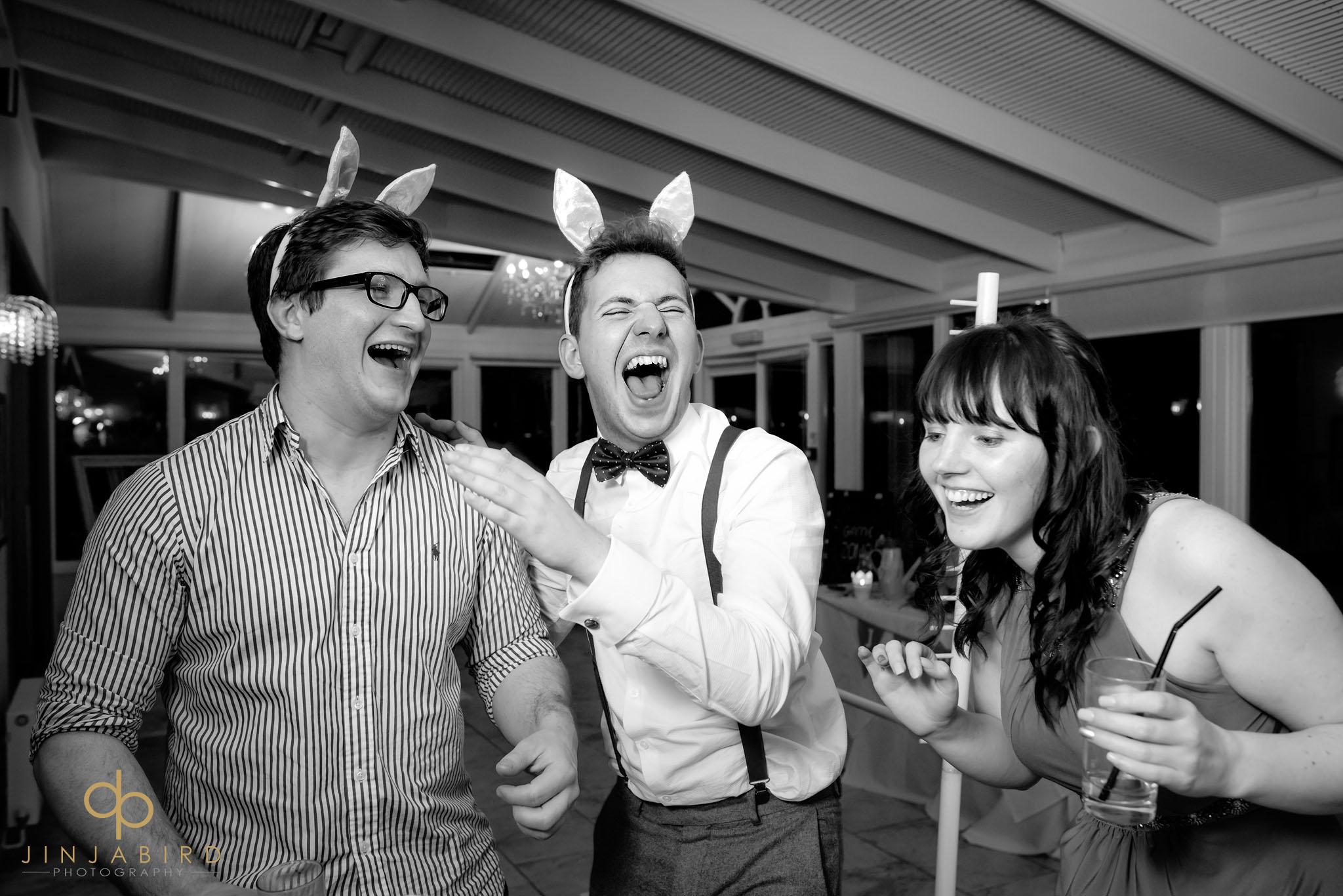 normanton park hotel wedding guests