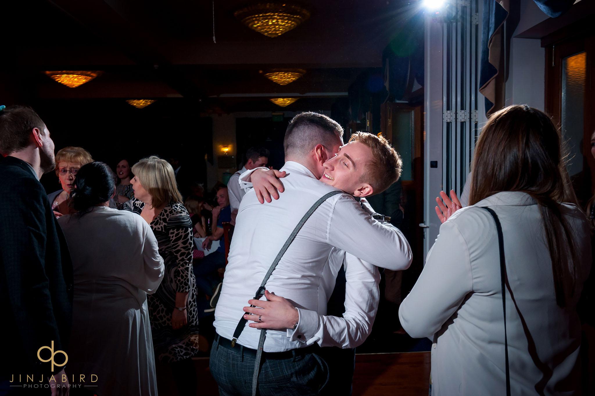 normanton park hotel wedding photo